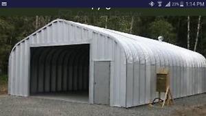 Steel garage/Insulation/16' door
