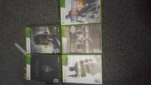 Xbox 360 white and games