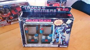 1983 Transformers G1 Combat Communicators CIB