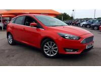 2015 Ford Focus 1.0 EcoBoost 125 Titanium (Nav Manual Petrol Hatchback