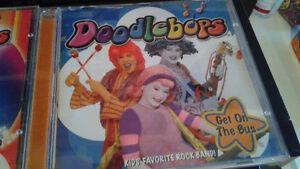 CD musique - enfants 3-6 ans - Doodlebops etc