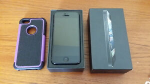 IPHONE 5 16GB BLACK FIDO ( IN GOOD CONDITION )