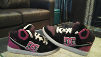 DC GIRLS HIGH TOP SNEAKERS SIZE 6.5 excellent CONDITION