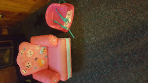 Toddler chair & booster seat