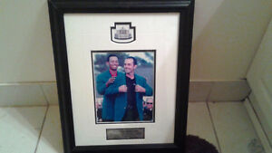 PICTURE OF MIKE WEIR AND TIGER WOODS-$25 FIRM Peterborough Peterborough Area image 1