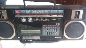 National portable stereo RX-C 34
