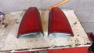 LEFT AND RIGHT LED TAILIGHTS FOR A 2000 CADILLAC DEVILLE