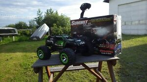 RC Traxxas Summit & Grave Digger