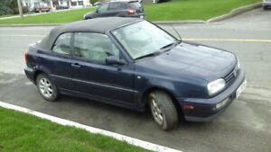 1996 Volkswagen Cabrio Cabriolet -  Echange?