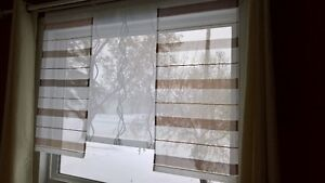 Hand crafted curtains