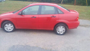 2006 Ford focus, Great Cond, New MVI last week