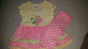 6-9month baby girl easter outfit