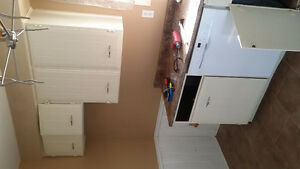 Multiple items for sale including recently disassembled kitchen