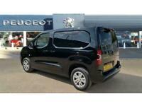 2021 Peugeot Partner Standard Diesel 1000 1.5 BlueHDi 100 Asphalt Van Van Diesel