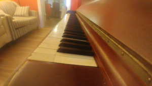 Upright Piano w/ Ivory Keys