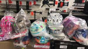 CHILDREN CYCLING PROTECTIVE GEAR, HELMETS, GLOVES, FIDGET SPINER
