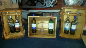 Rustic Wine Storage