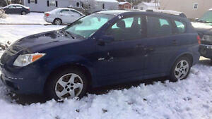 2007 Pontiac Vibe  150,000 km. New inspection. One owner