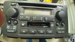 Bose Acura cd, cassette, and radio player