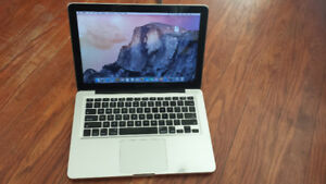 """13"""" Macbook Pro with Core i5 Processor for Sale, Can Deliver"""