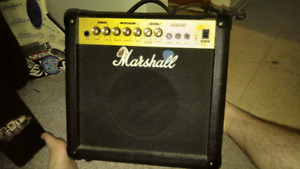 MARSHALL GR15 GUITAR AMP W REVERB - JAM ALONG TO YOUR STEREO!