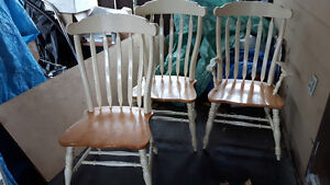 DINING CHAIR   SPINDLE CHAIRS ,  SOLID WOOD