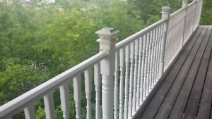 Yardcrafters White Vinyl Railing System
