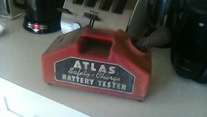 Early 1960's Atlas Collectables (Battery Tester and Charger )
