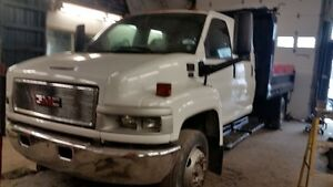 2003 GMC C5500 4 door Dump E-TEST & SAFETY Truck Other