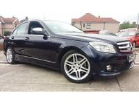 2008 MERCEDES BENZ C320 CDI SPORT 7G-TRONIC AUTO.STUNNING LOOKING CAR WITH A FSH
