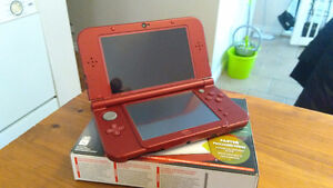 New 3DS XL [Red] + Charge Cord