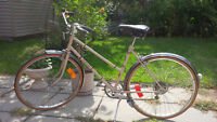 Vintage bicycle in excellent conditions