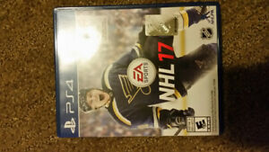 NHL 17 PS4 - Like New Condition