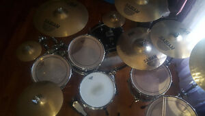YAMAHA Absolute Custom Birch Drum Kit with SABIAN Cymbals