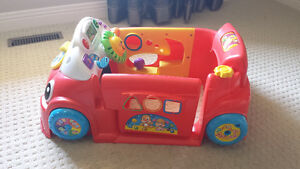 Fisher-Price Laugh & Learn Crawl Around Car Red