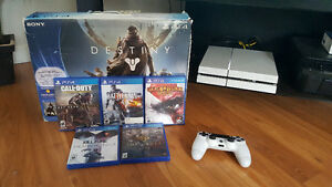 PS4 5 games With Origonal Box Like New