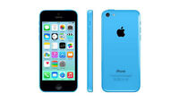 unlocked blue iphone 5c with apple care till May 2017 O.B.O