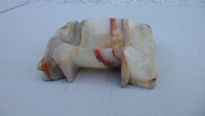 Carved Agate Stone Ashtray $20 Firm. Prince George British Columbia image 2
