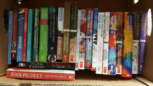Various books - Chicken soup and Jodi Piclout.
