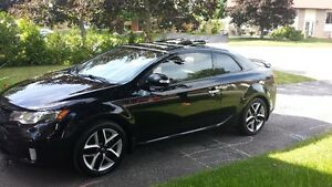 2010 Kia Forte SX Coupe (2 door) Black
