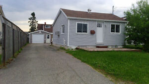 Move in ready 2 bedroom home with detached heated garage