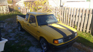 1995 Ford Ranger Spash Pickup Truck Open to Trades or Cash