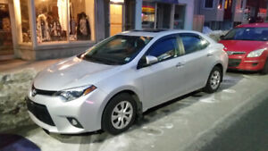 2015 Toyota Corolla LE Plus With Extended Toyota ECP Warranty