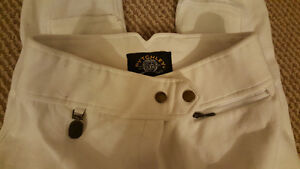 Pytchley white full seat show breeches Kitchener / Waterloo Kitchener Area image 5