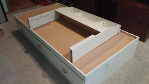 Single Bed Frame (3 drawers) with a Free Mattress