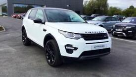 2017 Land Rover Discovery Sport 2.0 TD4 180 HSE Black 5dr Automatic Diesel 4x4