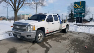 PENDING SOLD Andy 2013 Chevy Silverado 3500HD wrecker tow