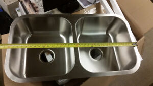 New Stainless Steel Double Bowl sinks