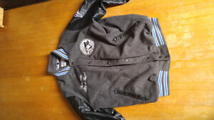 SELLING Genuine Blue Jay's Jacket w/ Leather Sleeves