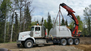 Septic Tanks- Holding Tanks- Water Cisterns